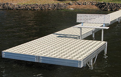 About A & M Aluminum Docks